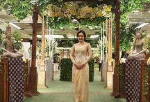 Pernikahan tema jawa klasik garden
