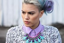 Upcoming shoot- Emily, Alice & Henrique  / Board to share inspiration for Pastel/Art trend shoot