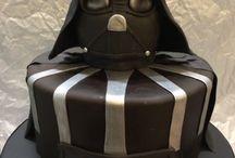 Moldeh de Star Wars / Cupcakes y pasteles con tema de la película Star Wars // Cupcakes and cakes of Star Wars