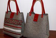 keçe çanta modelleri