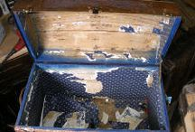 Old Steamer Trunk / by Libby Kennedy