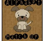 Alphabet / Learning the Alphabet is FUN with these Have Fun Teaching Alphabet Resources! Pin these Alphabet Worksheets, Activities, and Songs to your board today!