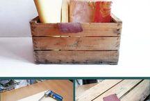 Decoração com caixotes ❤