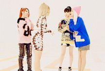 2NE1 / 2NE1 is a four-member South Korean girl group formed by YG Entertainment in 2009. The band consists of CL, Park Bom, Dara, and Minzy.