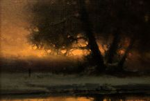 Tonalist Art / Featuring tonalist paintings from many different artists.
