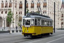 Budapest public transport vehicles