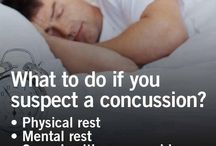 Concussion / Raising awareness and educating about the effects of concussion and traumatic brain injury (TBI).