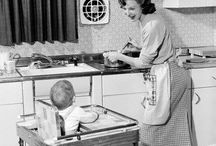 Housewife/old school mother photos / by Tabby Powell