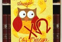 Chi Omega / by Kamila Jambulatova