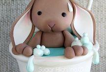 Babyparty-Kuchen