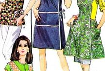 Vintage schort