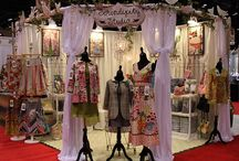 Clothing booth