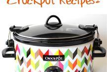 Crock pot dining.