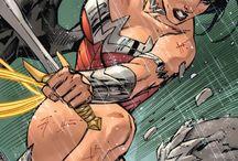 Super Hero Comic Art