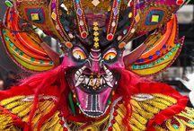Amerique andes - masques