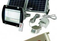 Solar Spotlights and Solar Floodlights