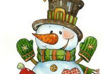 новый год зима