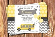 School Bus Theme Birthday Party