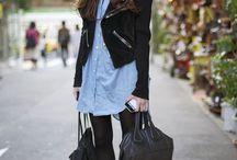 Mode - inspiration / Style de vêtements que je porte actuellement ou que j'aimerais pouvoir porter