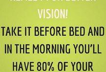 For better eye sight