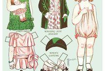 Бумажные куклы Dolly Dingle / Бумажные куклы Dolly Dingle