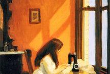Edward Hopper / Edward Hopper (Nyack, 22 luglio 1882 – New York, 15 maggio 1967) è stato un pittore statunitense famoso soprattutto per i suoi ritratti della solitudine nella vita americana contemporanea.