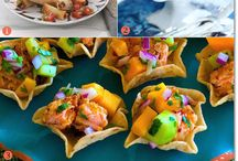 Caribbean party food