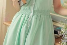 Mint color:)♡