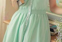 Mint color:)♡