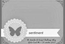 Sfida Card #1 / http://amichediscrap.blogspot.it/2013/10/sfida-card-1.html