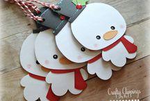 Targhette Da Regalo Di Natale