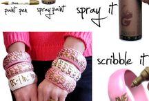 DIY bracelets & necklaces