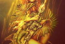 Arianna di Nasso / Character female warrior