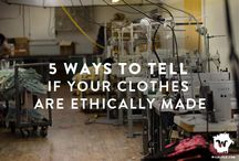 Ethical Fashion / Inspiration & ideas for ethical fashion that respects people, animals & the planet