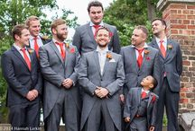 Wedding Group Photographs / The groomsmen, the bridesmaids and family group photographs