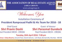 Installation Ceremony of President & Team / Event Name:  Installation Ceremony of President & Team  Date:               26th April 2016 Venue:            Eskay resorts, Link Road, Borivali West. Description:   Installation Ceremony of President & Team 2016-18 was held in presence of Cheif Guest Shri. Pravin Doshi &  Guest of honour Shri. Parasmal Gundecha, held on 26th April 2015 at Eskay Reosrts Hall, Link Road, Borivali West.