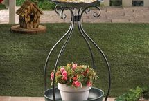 Bird feeders and pot plant holders