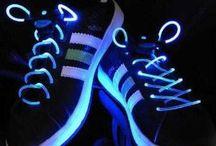 Glow-in-the-dark sneakers!