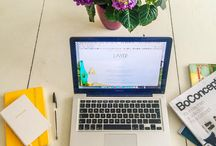 Life | Working from Home / Home office ideas to make the most of your very own personal work space.