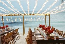 Romantic lighting for wedding
