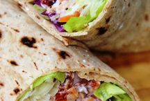 Sandwiches & Wraps / Sandwiches are wonderful. You don't need a spoon or a plate! Paul Lynde