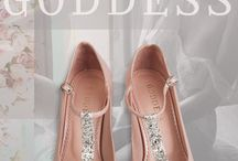 goddess / pink shoes, love, romantic shoes, bride
