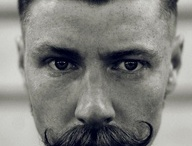 1920's Blinders / A particular look for men based on an undercut do, beard and moustache