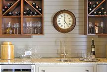 Bar Area  / by Stacey Steward {Steward of Design}