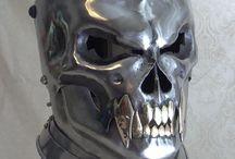 steel helmets