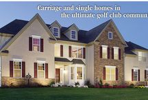 French Creek Village / New construction homes in Elverson, Chester County, PA built by Southdown Homes. Nestled amidst the rolling fairways of the French Creek Golf Club, French Creek Village offers award-winning carriage homes and single homes designed with unmatched style and attention to detail.