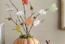 Kürbisse/deko/Herbst