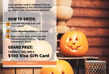 apartments.com Spooky Sweepstakes