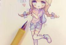 Anime Chibi Draw