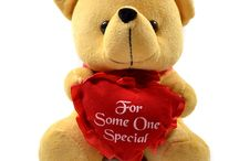 Teddy Bears / Find cutest teddy bears here .. #Teddies #TeddyBears make a cute and loving #gift on any occasion and celebration. Convey your #loving feelings through these lovely fluffy gifts /